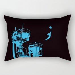 Factory Jump Rectangular Pillow