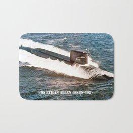 USS ETHAN ALLEN (SSBN-608) Bath Mat