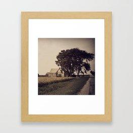 Elwin's Prairie Home Framed Art Print