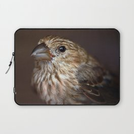 Portrait of a House Finch Laptop Sleeve