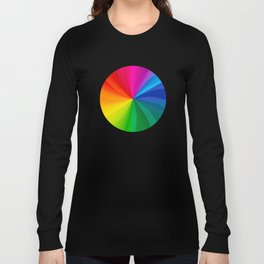 Spinning Wheel of Death Long Sleeve T-shirt