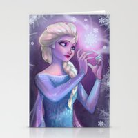 elsa Stationery Cards featuring Elsa by Red Red Telephone