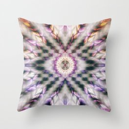 Abstract eye of focus Throw Pillow