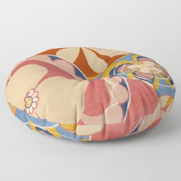 Hilma af Klint Group iv No. 2 the Ten Largest Youth Floor Pillow