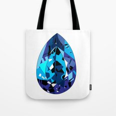 GEMS - blue , shine , single piece Tote Bag