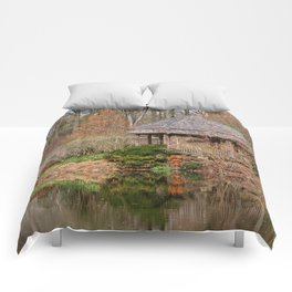 Brookside Bridge & Gazebo Comforters