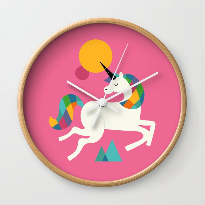 To be a unicorn Wall Clock