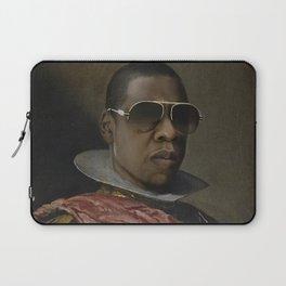 Portrait of Jay Z in Armor Laptop Sleeve