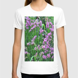 Lilac nature Flowers # T-shirt