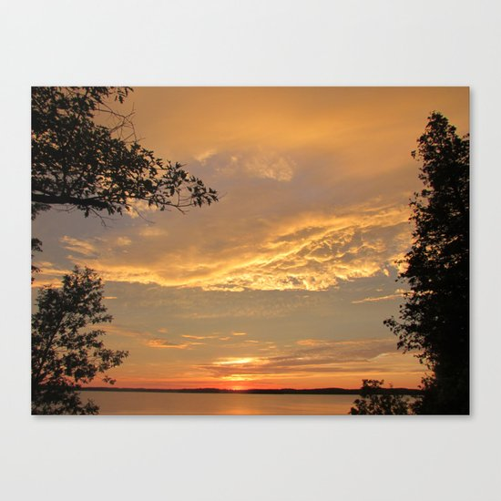 A Beautiful Close Canvas Print