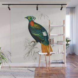 Bird Illustration Wall Mural
