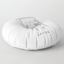 I'm Beautiful Inside Floor Pillow
