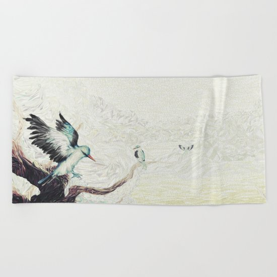 Flight Beach Towel