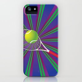 Tennis Ball and Racket iPhone Case