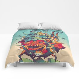 Moving Castle Comforters