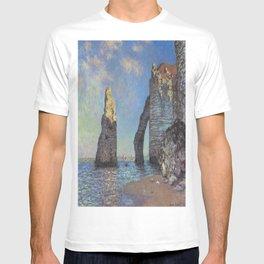 Claude Monet's The Cliffs at Etretat T-shirt