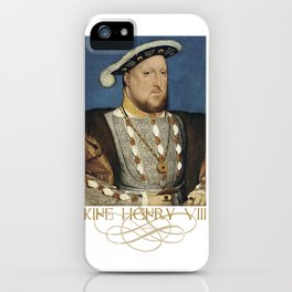 King Henry VIII of England iPhone Case