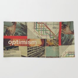 Optimism178 Beach Towel