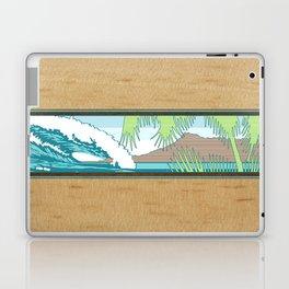 Ala Moana Diamond Head Hawaiian Surf Sign Laptop & iPad Skin