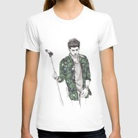 zayn T-shirts featuring Zayn Floral by Coconut Wishes