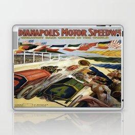 Vintage poster - Indianapolis Motor Speedway Laptop & iPad Skin