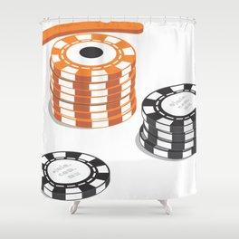 eye pot Shower Curtain