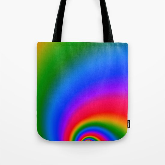 Magic Rainbow Tote Bag