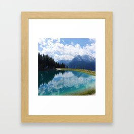 Berchtesgaden National Park and Lake Konigsee Framed Art Print