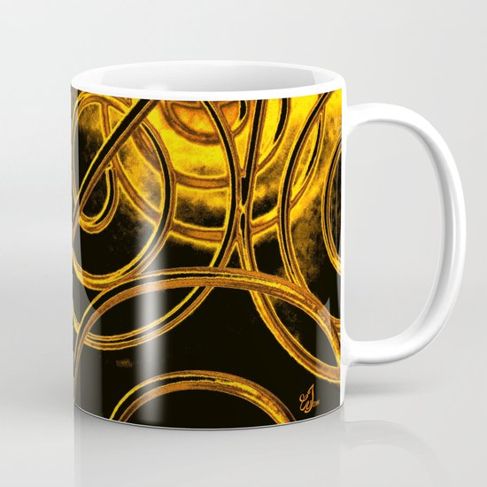 Golden Swirls Mug