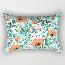 Tangerine Dreams #society6 #decor #buyart Rectangular Pillow