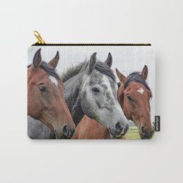 Wonderful Horses Carry-All Pouch