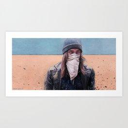 Jesus Saves - The Walking Dead Art Print