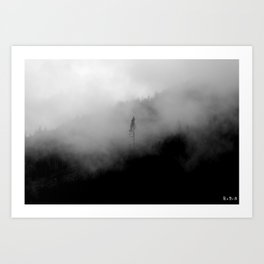 mists of Cascadia I Art Print