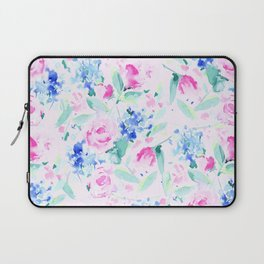 Scattered Lovers Pink Laptop Sleeve
