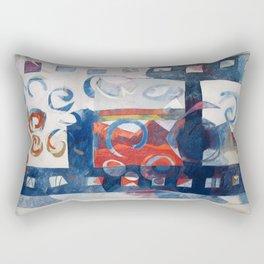 al cinema Rectangular Pillow