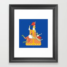 ZACARANDASCA Framed Art Print