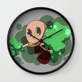 Chick-Pea Owl Wall Clock