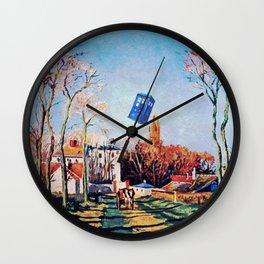 Tardis Just Fly Wall Clock