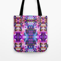 trippy Tote Bags featuring Trippy by Padi Patt