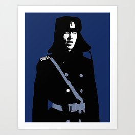 CHINESE RED ARMY Art Print