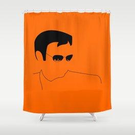 Horatio-CSI: Miami Shower Curtain