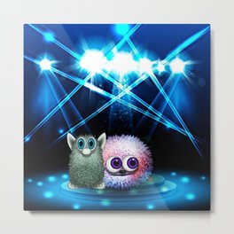 tony is now a star ... and has new friends 4/4 Metal Print