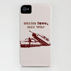 Make love, not war! iPhone (4, 4s) Slim Case