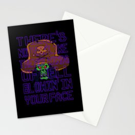 The Hot Winds Of Hell Stationery Cards