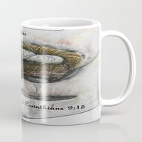 gift card Mugs featuring His Indescribable Gift by EloiseArt