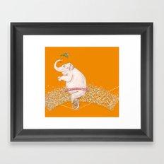 Big Achievement Framed Art Print