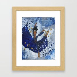 Misty Ballerina Framed Art Print