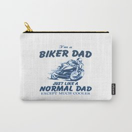 Biker DAD Carry-All Pouch