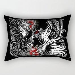 Dos Gallos Rectangular Pillow
