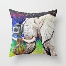 Elephant II Throw Pillow